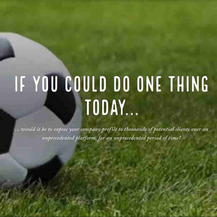 IF YOU COULD DO ONE THING TODAY...