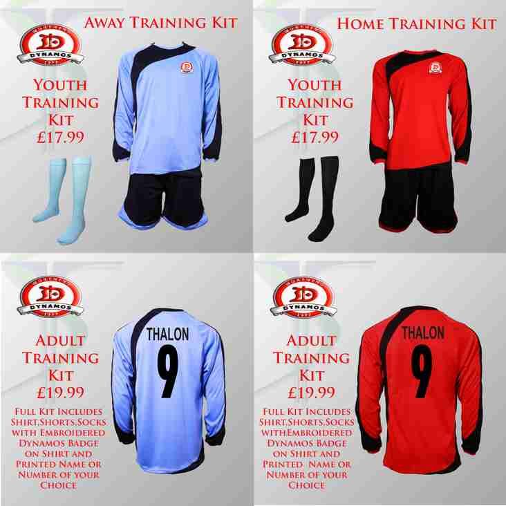 Worthing Dynamos Youth & Adult Training Kit.