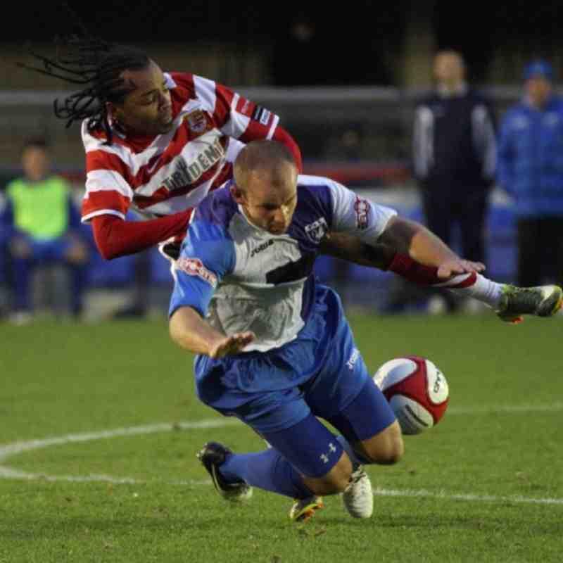 Burnham FC FA Trophy 3rd Round Qualifier