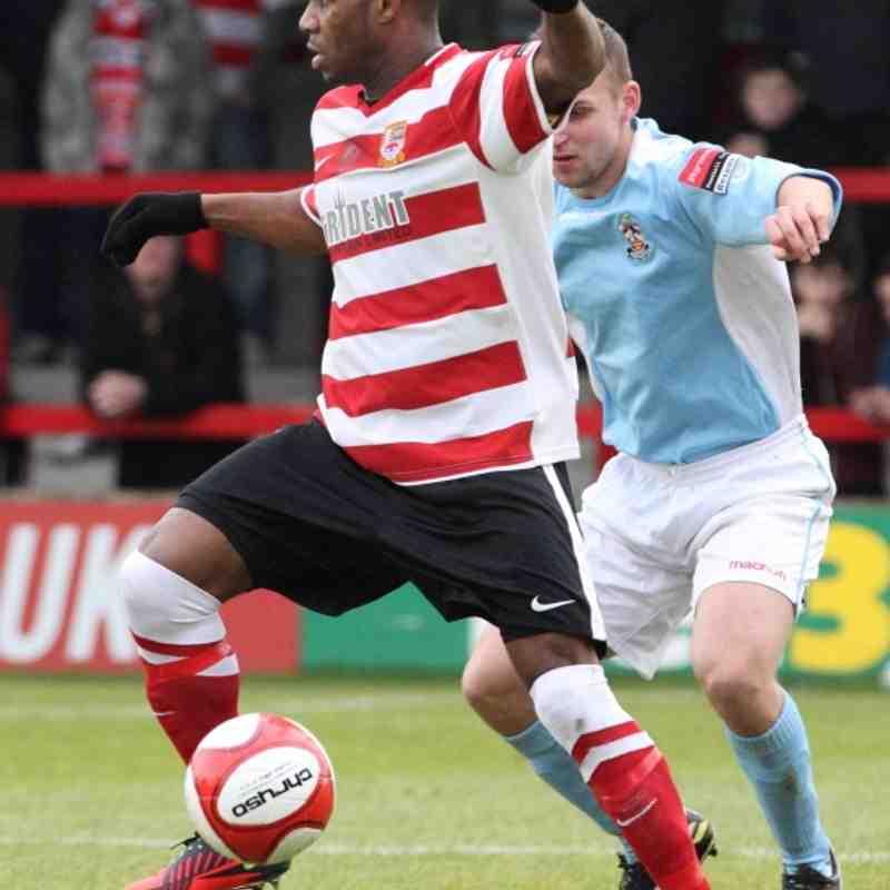 Kingstonian vs Brentwood FA Trophy 10/11/12