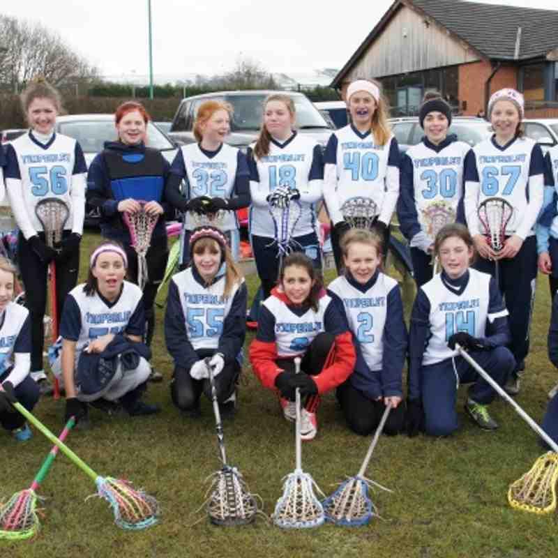 U15 girls tournament 2013