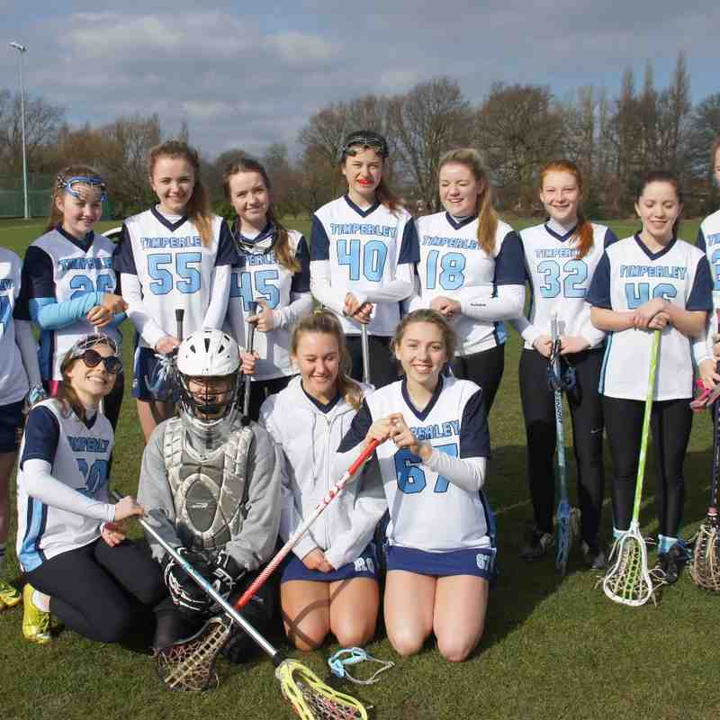U18 girls V Brooklands March 2015