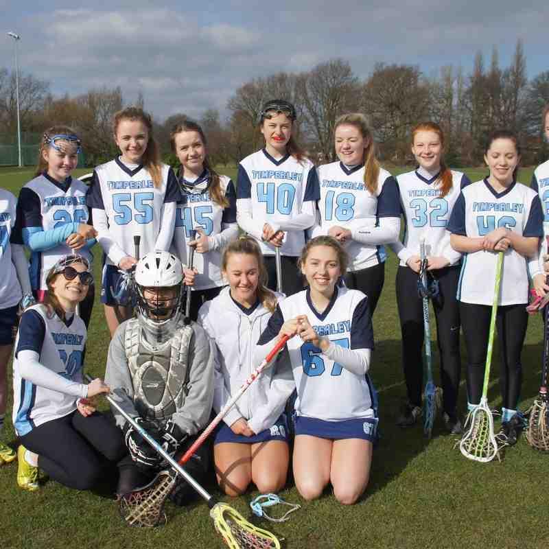 U18 girls V Brooklands March 2015