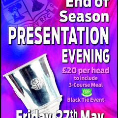End of Season Presentation Evening