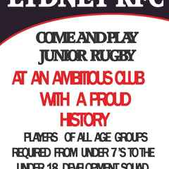 Come and Play Junior Rugby