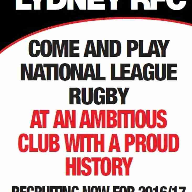 Come And Play National League Rugby