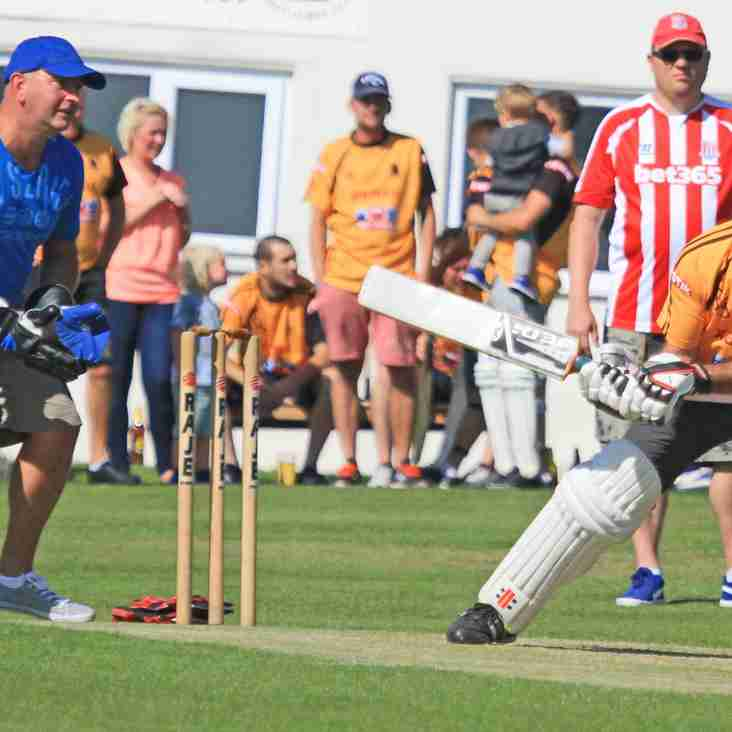 Charity match played at Ossett CC on Sunday the 6th of September.