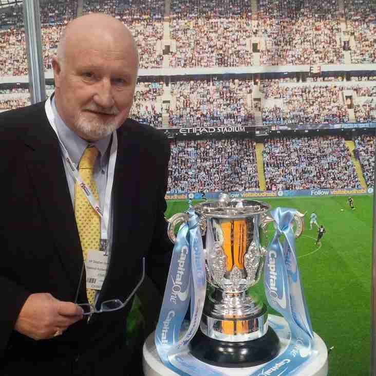 Ossett President Gathers Ideas From Man City