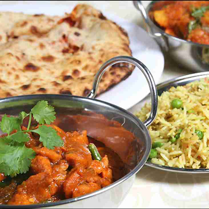 Curry Night Saturday 13th May Reminder