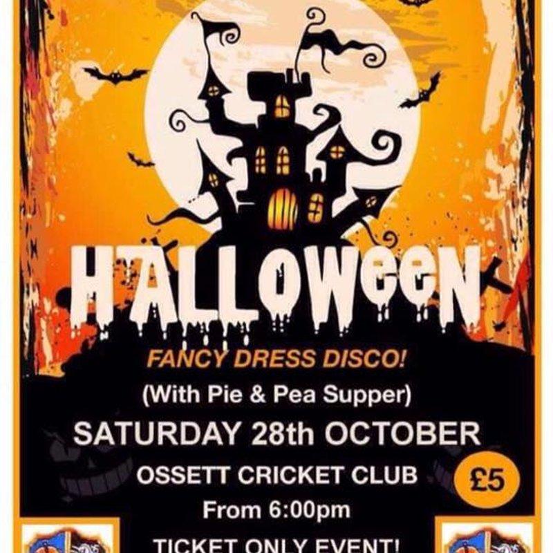 Junior Cricket Halloween Fancy Dress Disco (Lot of Tickets Left)