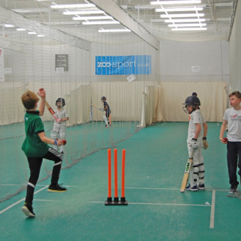 Juniors indoor nets from January 2019