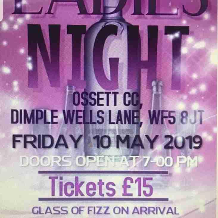 Ladies Night at Ossett CC