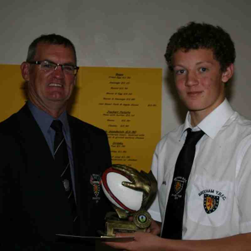 Brixham Under 14's Presentation Evening - 7th May 2012