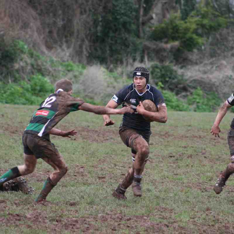 Brixham Colts v Ivybridge - 23/1/16.