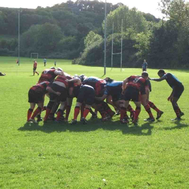 Old Reds 3rd (17) vs Castle Cary (41) 051013