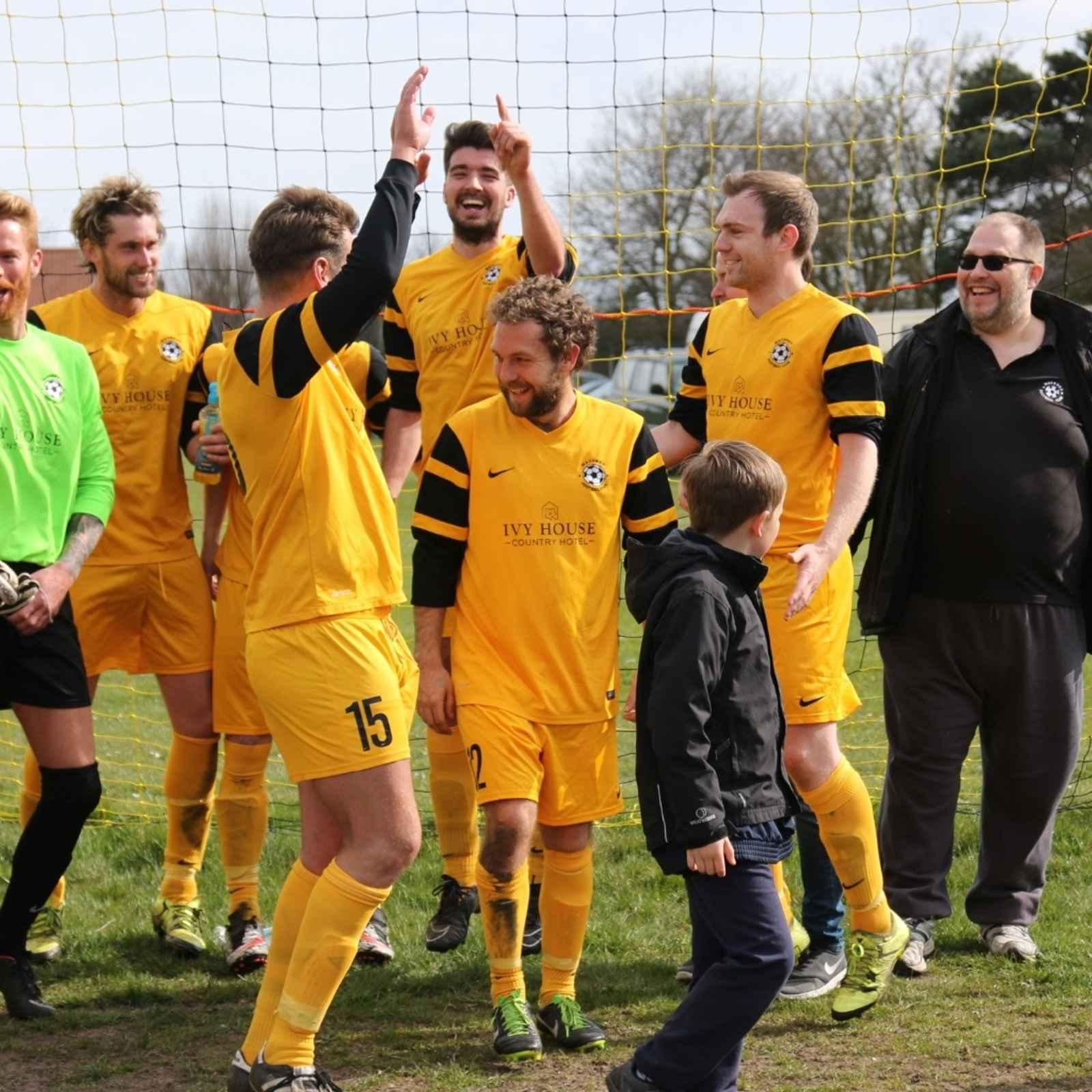 Waveney F.C. 1st Team v North Walsham Football Club