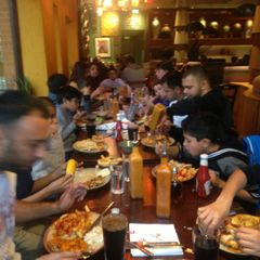 Leicester Nirvana U9's Team Dinner at NANDO's