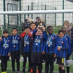 Winners of the U9's Section of Leicester & District Mutual League Festival 2015-16