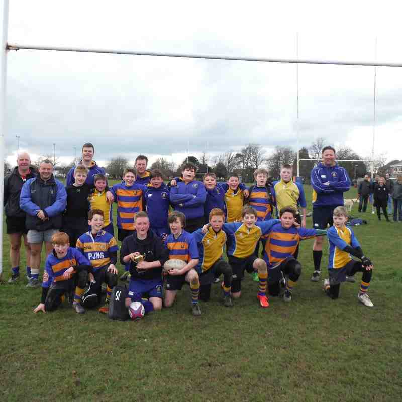 Saxon U12 vesus Portsmouth Junior 6 Mar 16