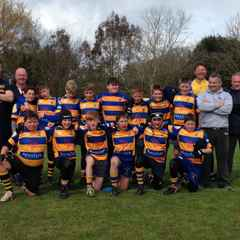 Saxons Visit Fordingbridge for Spring Cup U12 Tournament