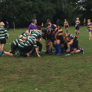 Saxons Settle into the Season with First U15 Division One Win