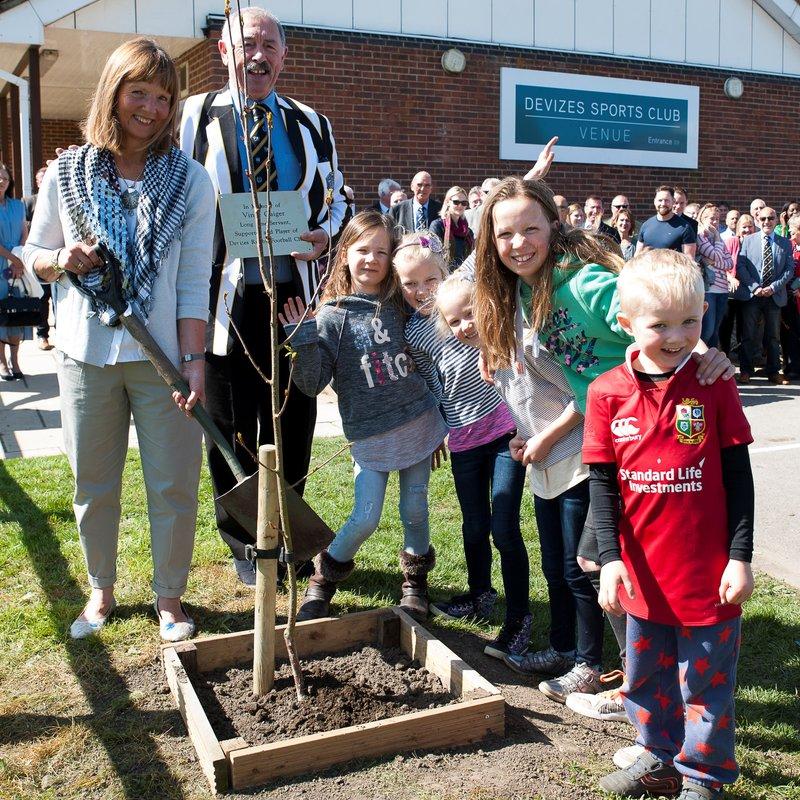 Vince Gaiger Tree Planting Ceremony