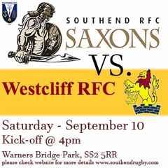 SOUTHEND SAXONS vs. Westcliff RFC
