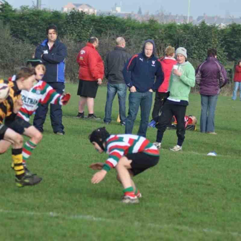 Hinckley U11`s Vs Lutterworth U`11s Sunday 13th 2011