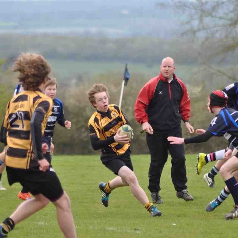 Rugby Lions RFC U14s Vs Hickley RFC U14s 19/4/15