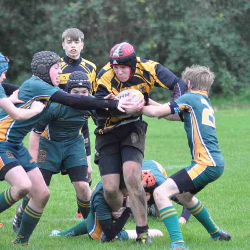Hinckley RFC U15s Vs Melbourne RFC U15s 15th Nov 2015