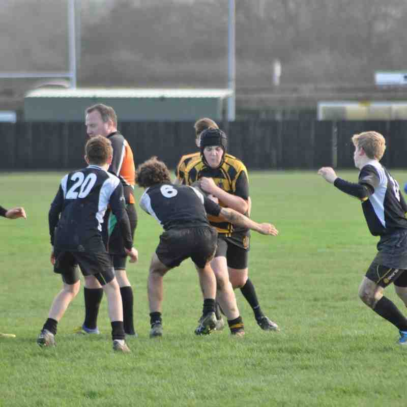 Market Harborough RFC U15s Vs Hinckley RFC U15s 20th Dec 2015