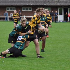 U16s v Leicester Vipers RFC - Sun  4 Sep 2016