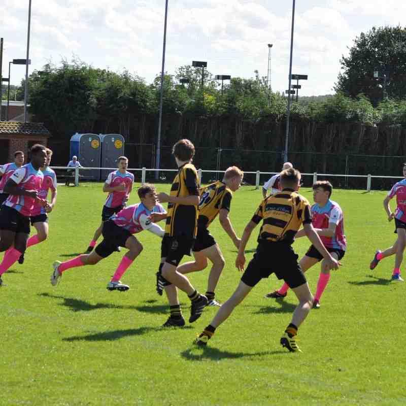 Hinckley RFC U16 v Nottingham Paviors U16s Sunday 11th Spetember 2016 Part 2