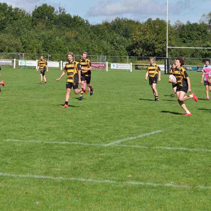Hinckley RFC U16 v Nottingham Paviors U16s Sunday 11th Spetember 2016 Part 3