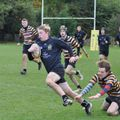 Hinckley RFC U16's overcome Oadby Wygg's in 13 try bonanza!