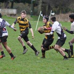 Burton RFC U16s V Hinckley RFC U16s 19/2/17