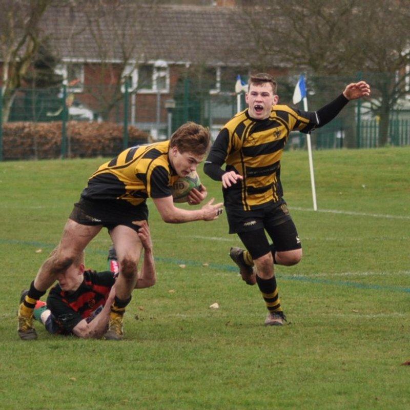 Long Trip reaps no reward for Hinckley RFC U16's