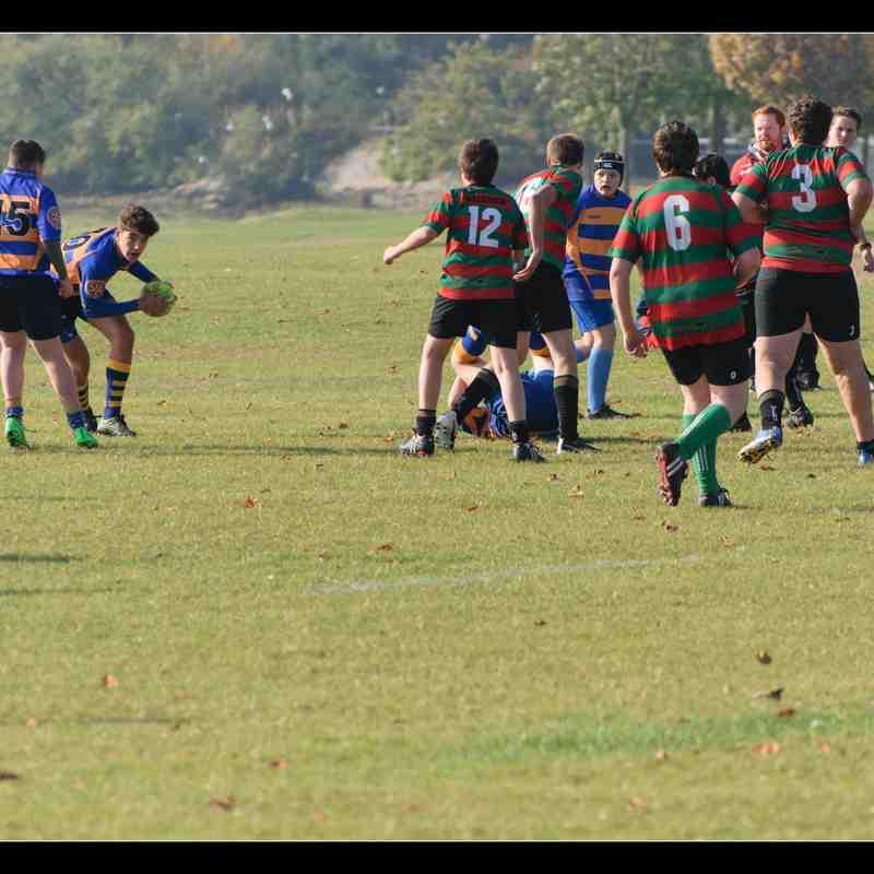U15s v Millbrook - 23/10/2016