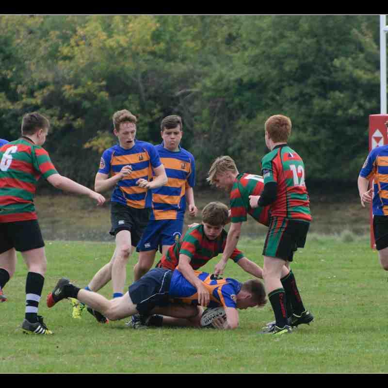 U16s v Millbrook 08/10/17