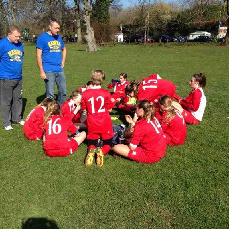 Hawks Youth Girls U13's v Cuckfield Cosmos