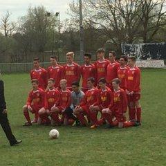 U15's - Mid Sussex League Cup Winners
