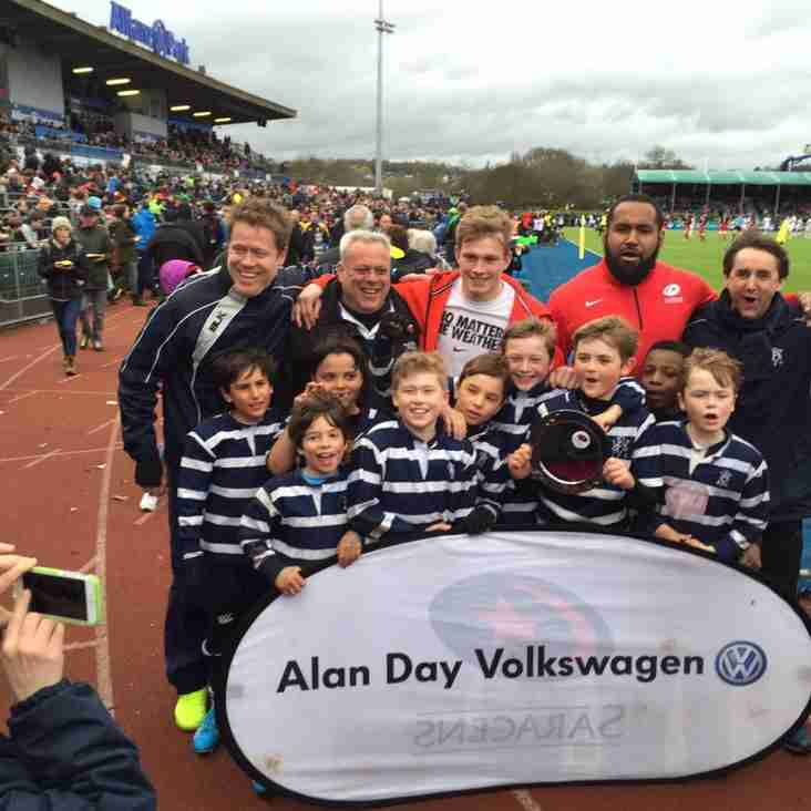 My Day at Saracens by Jackpot