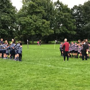 Wolves Roar to 25-10 Victory in Opening Day Fixture at Beccehamians by Tom Barrett