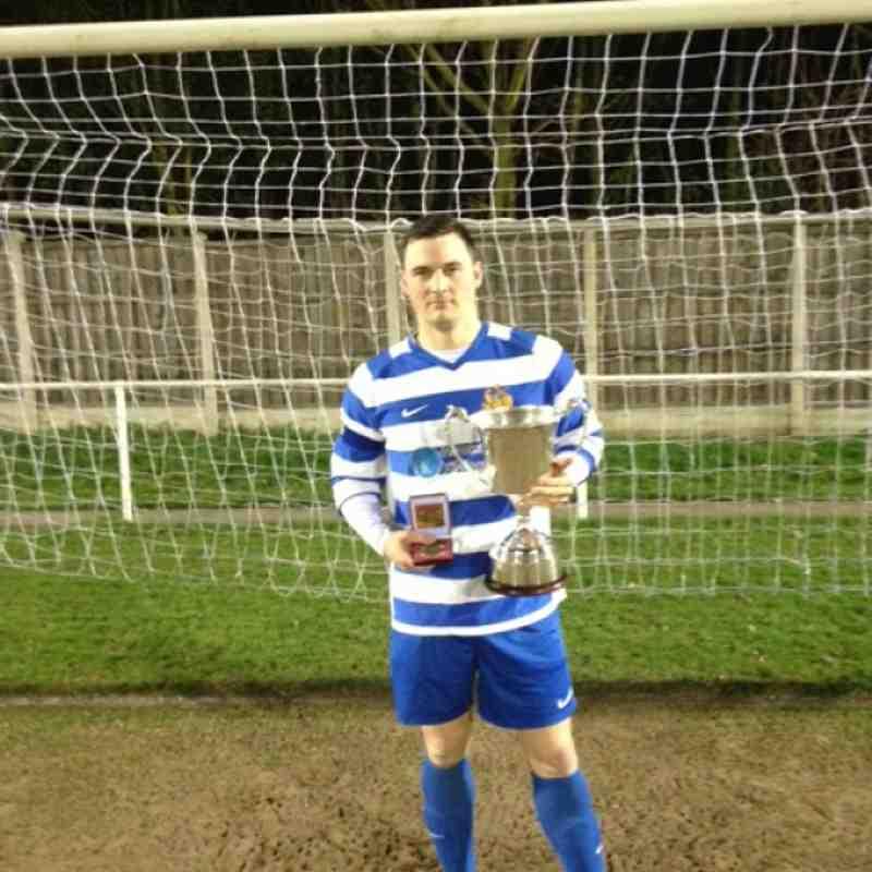 Cup Winners verus Horbury Town FC