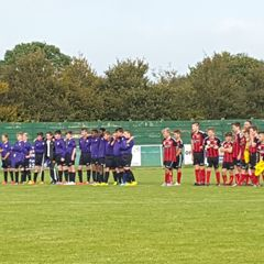 Under 13's Black v Fareham Town - 4th October 2015