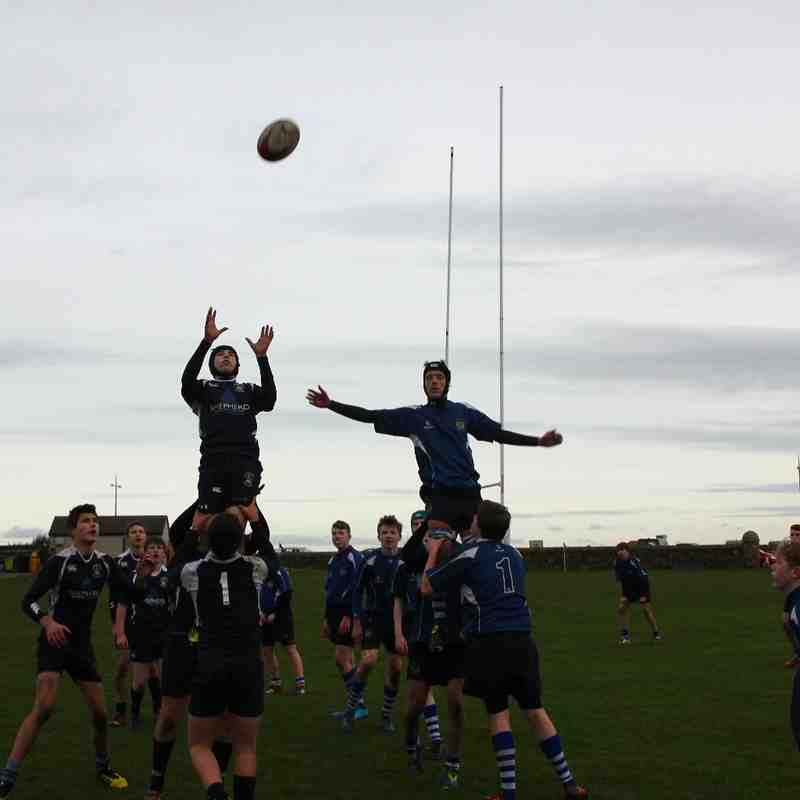 U15s v Dunfermline for cup first round 31.01.2016