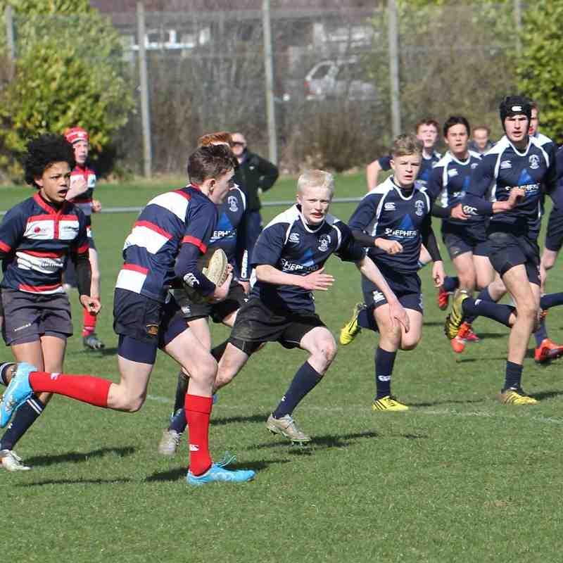 Under 15 v Aberdeen Grammar RFC - 27th March 2016