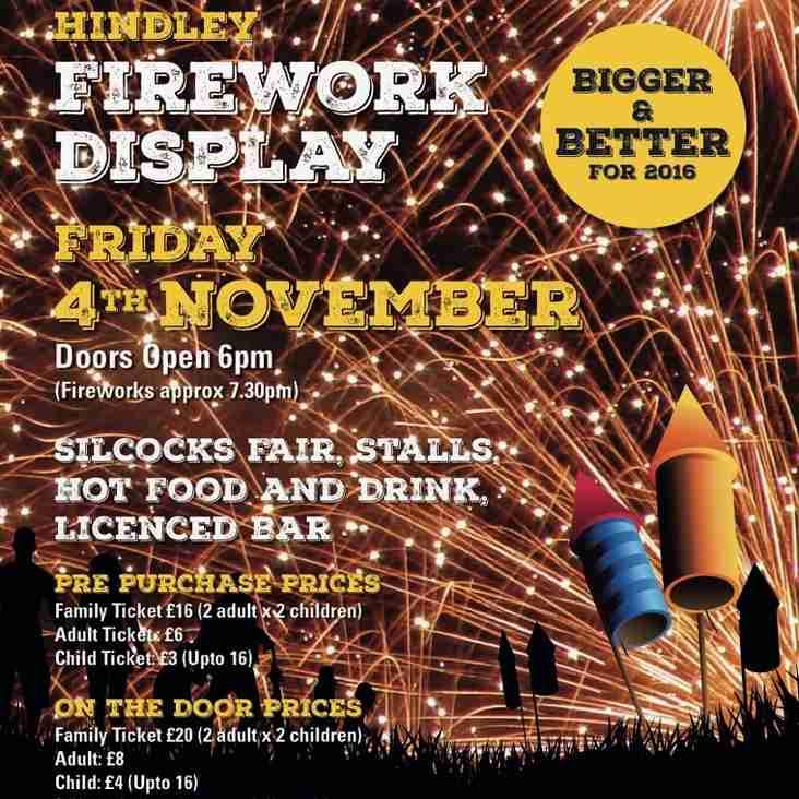 Members Discounted Fireworks Display