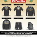 New Club Clothing by O'Neills