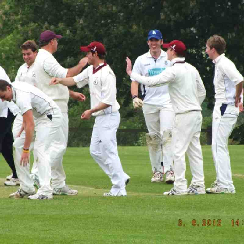 Hendred 1st Vs Garsington 2012